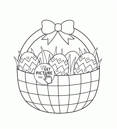 coloring pages easter eggs basket easter egg basket coloring pages az coloring pages