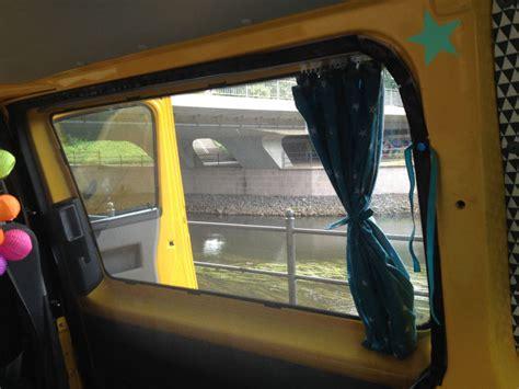 vorhange t3 nahen busausbau t5 teil 3 dachfenster gardinen moskitonetz