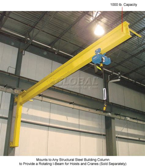 crane wall mount hoists cranes cranes wall ceiling abell howe