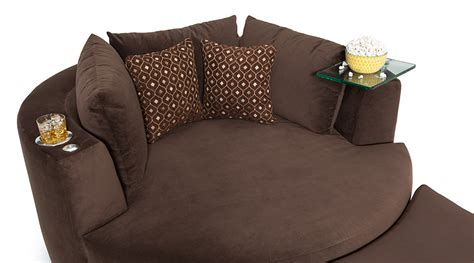 cuddle couch home theater seating seatcraft swivel cuddle couch seatcraft