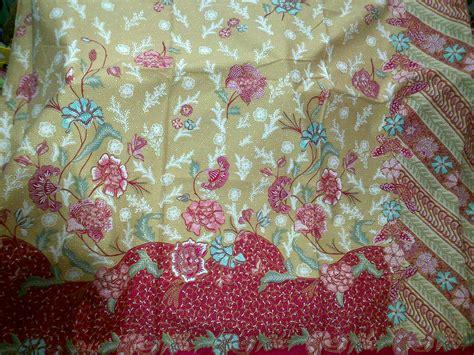 Batik Hokokai Dan Embos kain batik djanur kuning batik