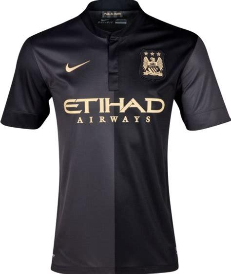 Kaos 4 20 Black Aveneu Merch black manchester city jersey 2014 soccer shirts