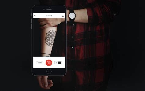 tattoo overlay app now you can live preview tattoos on your skin with your