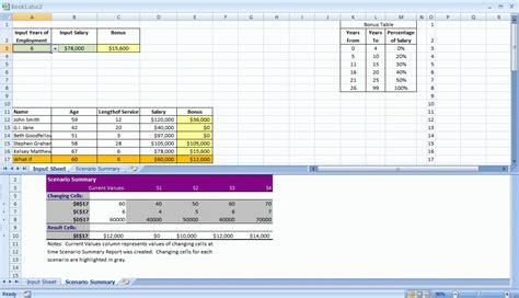 Create An Excel Spreadsheet That Calculates The Correct Bonus When Given The Required Pc Build Excel Template