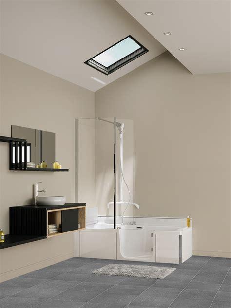 badkamer douche in bad kinedo 174 duo douche bad combinatie product in beeld