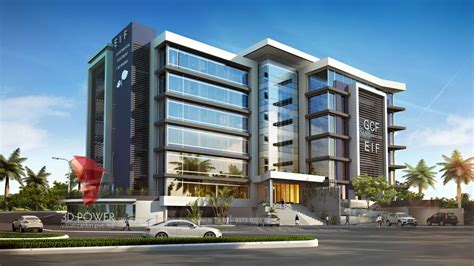 building design corporate building design 3d rendering architectural