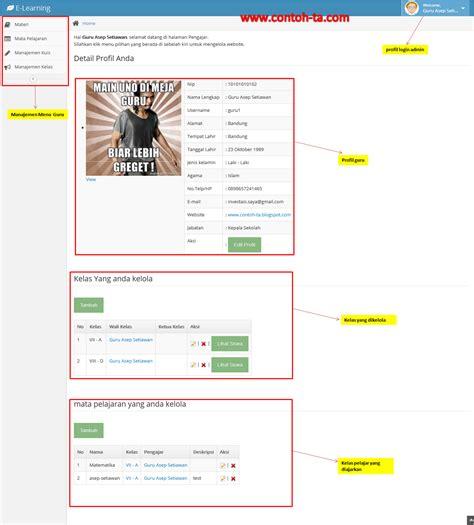 membuat website e learning sistem e learning berbasis web modern web