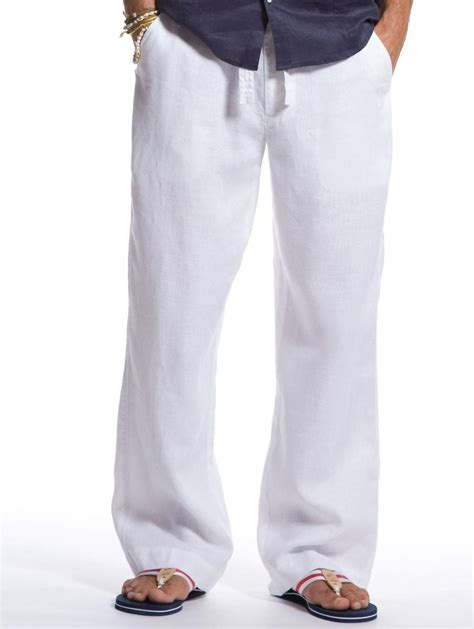 25 best ideas about white linen mens on