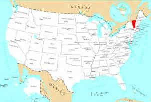 Vermont In Usa Map by Where Is Vermont Located Mapsof Net