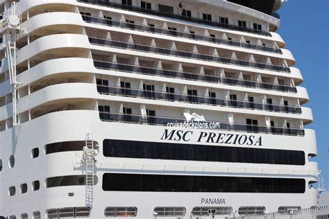 MSC Preziosa Deck Plans, Diagrams, Pictures, Video