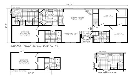 blueprints for ranch style homes ranch style house plans with open floor plan ranch house