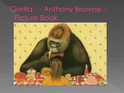 anthony browne picture books ppt shoe horn sonata misto module a