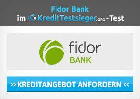 fidor bank geld abheben kreditkarte ohne schufa mit dispo im test