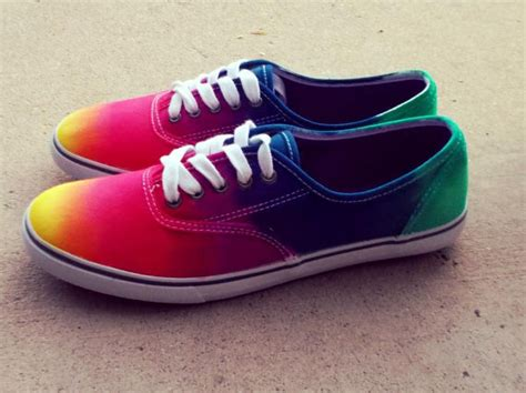 tie dye canvas shoes by chaoticmayhem on etsy