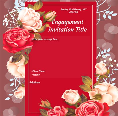 engagement invitation card templates free in marathi invitation card format for engagement in marathi images