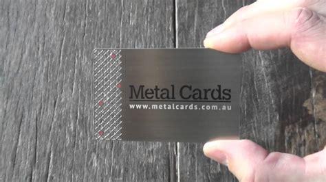 Metal Business Cards Australia