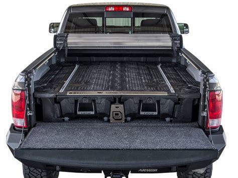 truck bed storage systems decked truck bed storage system truck bed organizer