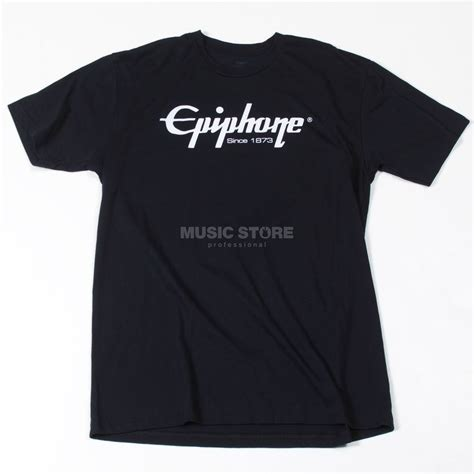 T Shirt T Shirt M A T E epiphone logo t shirt m
