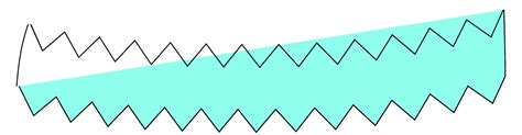 illustrator draw zigzag joining zig zag lines with regular lines to make a shape