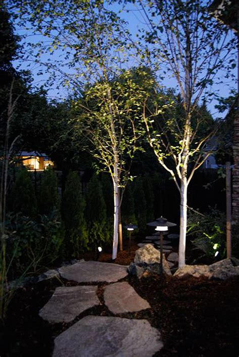 landscape lighting installers low voltage outdoor