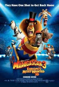 madagascar 3 europe wanted