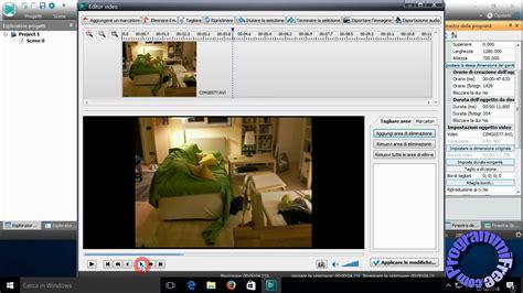 tutorial vsdc video editor tutorial vsdc video editor free in italiano youtube
