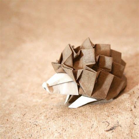 Origami Hedgehog - best 25 origami animals ideas on easy origami