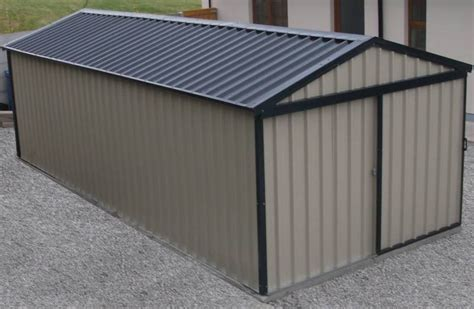Metal Shed Insulation by 3m X 7m Shed With Brown Trim