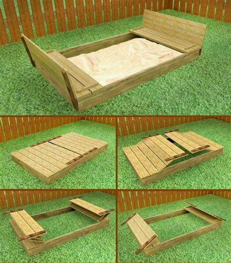 diy pit enclosure sand pit saw one at yorkshow next palette project coming