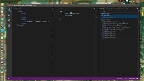 theme editor linux microsoft visual studio code on ubuntu linux youtube