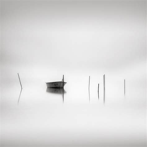 boat with a very fine net last boat photography digital by maria str 246 mvik art