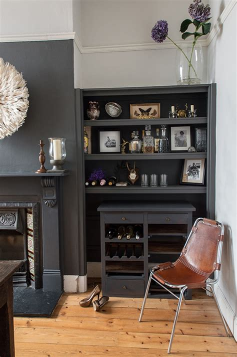 Grey Edwardian Living Room Sneak Peek A Bristol Home That Mixes And