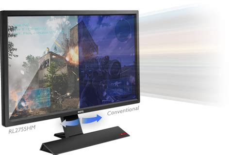 Low Blue Light by 27 Quot Benq Rl2755hm Led Gaming Monitor With Speakers Computer Alliance