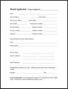 house rental application house rental application form free printable documents