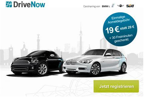 Billige Versicherung Welches Auto by Stadtauto Carsharing Drivenow Anmeldung Jetzt Nur 19