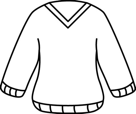sweater template sweater outline template sweater grey