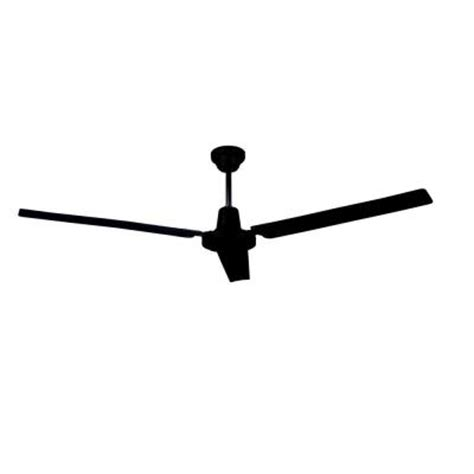 ceiling fan with blades that open up canarm 56 in black industrial ceiling fan with 3 blades