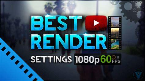 tutorial vegas pro 14 bahasa indonesia sony vegas pro 14 best render settings 1080p 60fps so