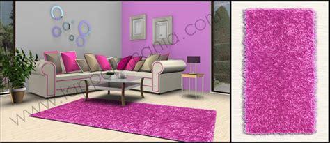 tappeto fucsia tappeti shaggy moderni da soggiorno fucsia