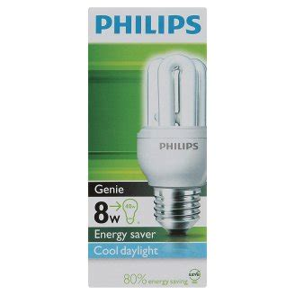 Lu Philips Genie 8w philips genie 8w gt 40w energy saver cool daylight bulb