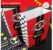 Decoraci&243n De Cumplea&241os Autos Carrera Para Imprimir