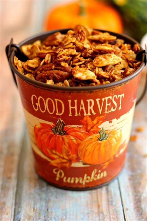 pumpkin spice bud pumpkin spice granola recipe taste buds granola and