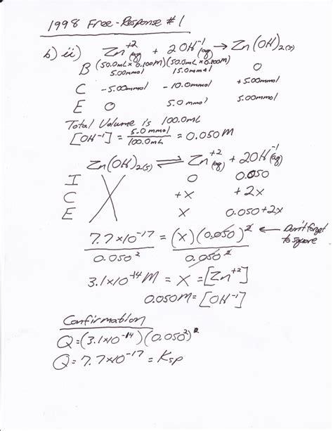 heritage high school ap chemistry 2010 11 mr brueckner