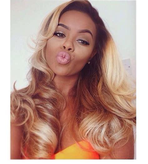 blonde sew in on dark kin 187 best images about black girls blonde hair on
