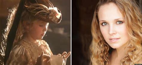 titanic film girl name little girl in titanic aspiring actress ellie bensinger