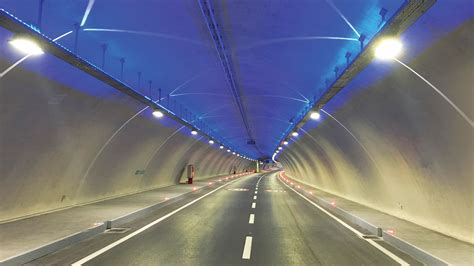 special lighting design of eurasia tunnel lighting