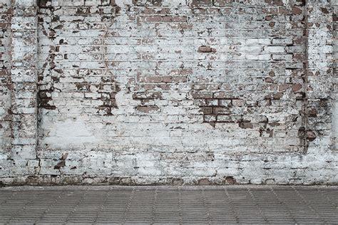 oude muur behang fotobehang oude witte muur de fabriek muurstickers