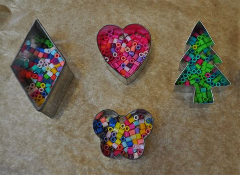bead ornaments melted bead ornaments diy