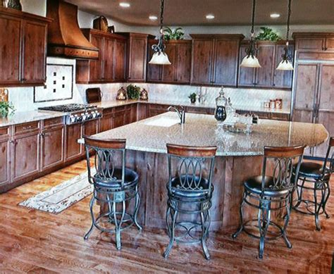 triangle kitchen island a triangle island how unique kitchen ideas