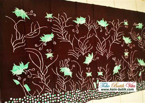 Batik Kupu batik madura kupu kupu hijau kain batik murah